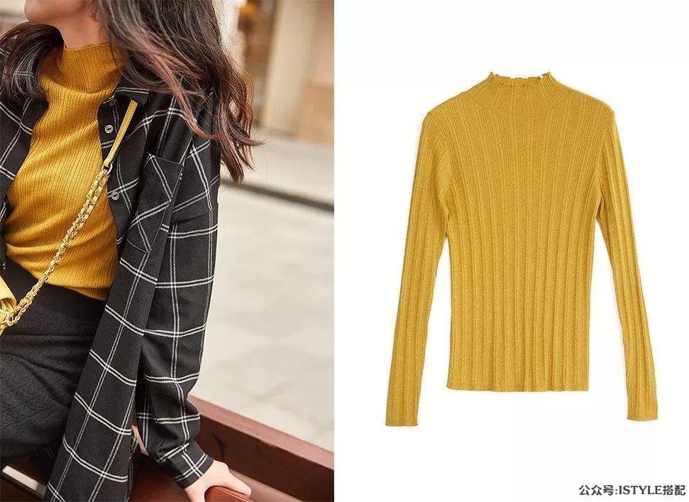 今年初秋最显瘦的毛衣,竟然是这几件!插图(13)