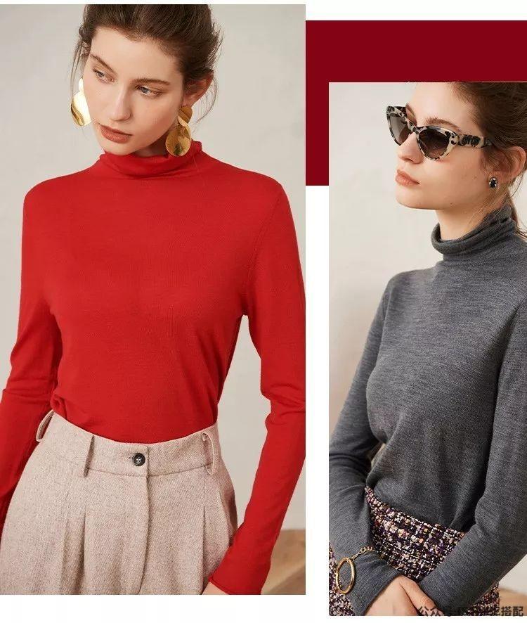 今年初秋最显瘦的毛衣,竟然是这几件!插图(17)