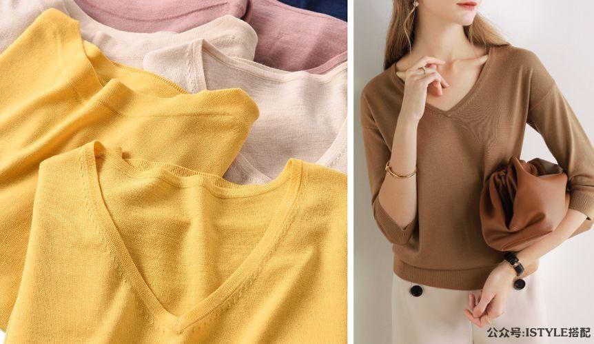 今年初秋最显瘦的毛衣,竟然是这几件!插图(24)