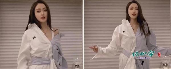 """张天爱真是穿搭""""鬼才"""",视频改造旧衣,普通长袖衫秒变斩男利器"""