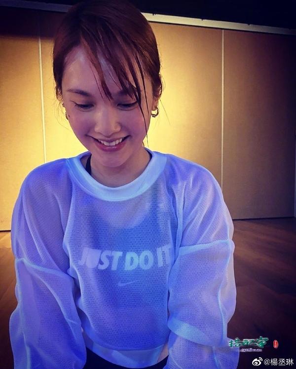35岁杨丞琳晒健身美照,汗流浃显露纯素颜,真实状态让人不敢相信