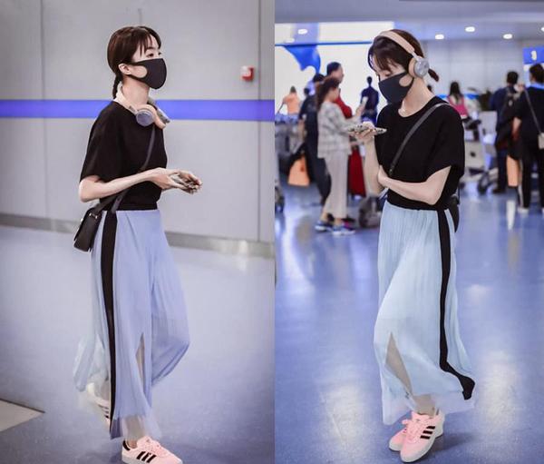 像胡冰卿这样长相着急的人,穿衣真的不要太少女,选文艺风就对了