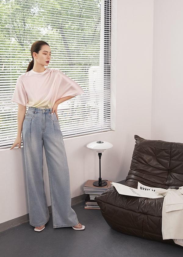 夏日必备四款阔腿裤,显瘦显高穿搭简单,选对了版型怎么穿都好看