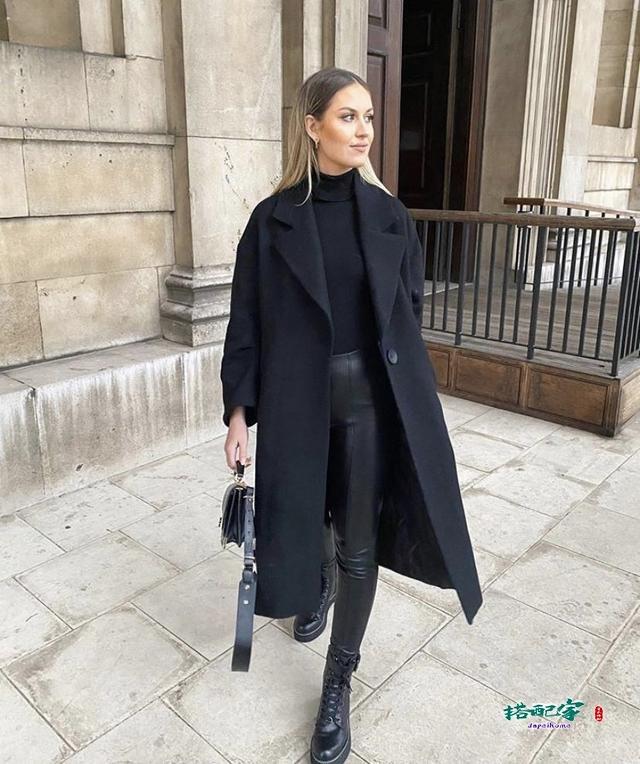 黑色包包配什么颜色衣服好看?