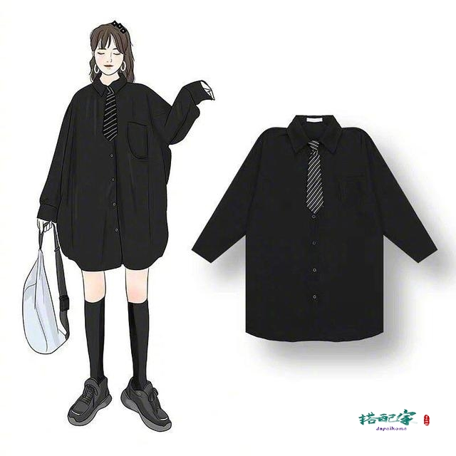 黑色衣服如何穿搭好看?