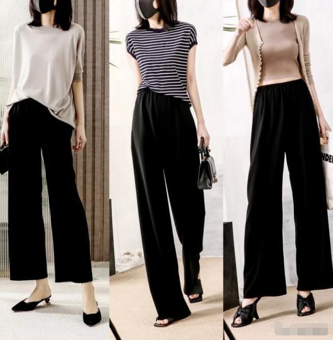 黑色衣服穿搭什么裤子好看?