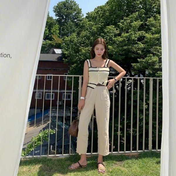 120斤女生怎么选裤子?三款夏日必备长裤,显高显瘦不闷汗!
