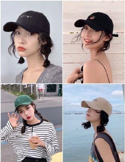 """""""国字脸""""女孩戴哪种帽子?万能棒球帽种草一下,满满都是干货!"""