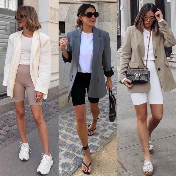 夏天就是露腿的季节!三款热门短裤穿搭推荐,让你秒变大长腿