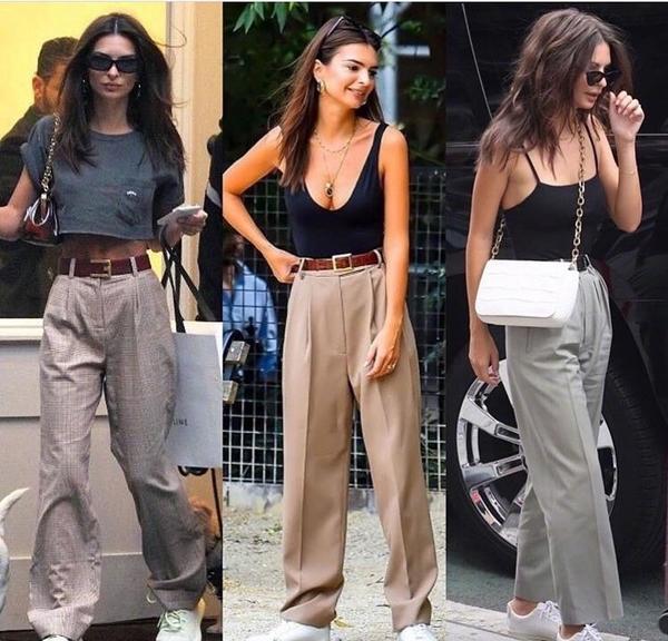 """适合夏天的三种裤型,显瘦不挑腿型,""""梨形女孩""""也能变腿精"""