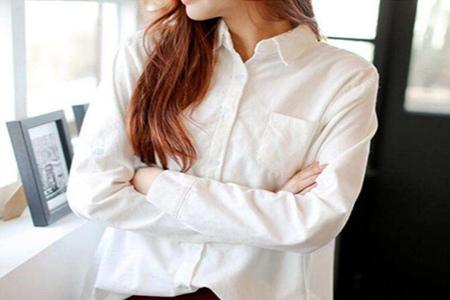 长款白色衬衫穿搭什么外套?