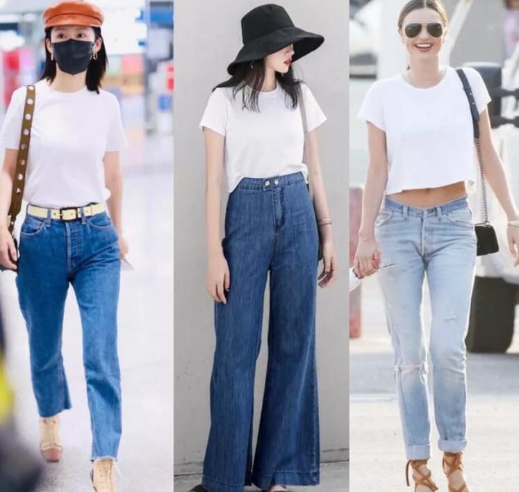 30岁的女人T恤怎么穿搭好看