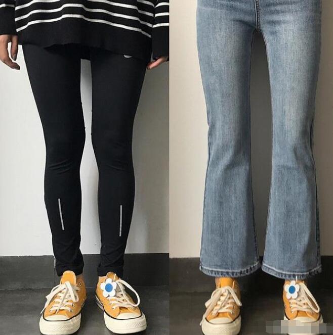 大腿粗适合穿什么牛仔裤?