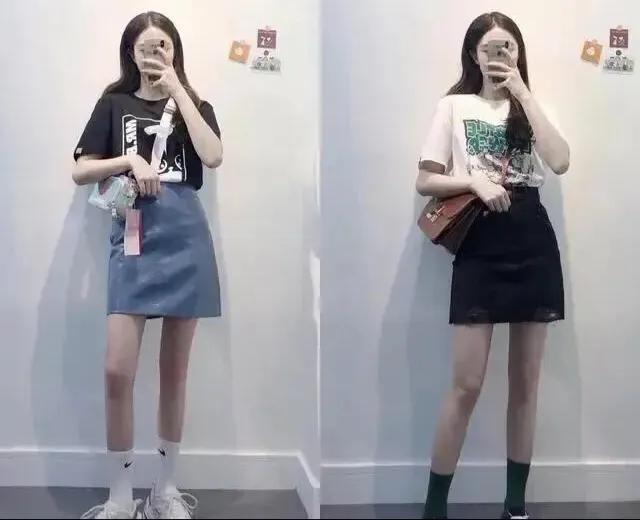如何穿裙子显腿长?