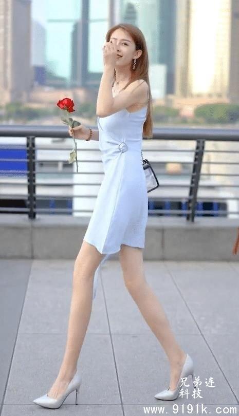 散发时尚气质的小姐姐,颜值高气质出众,美丽时尚_