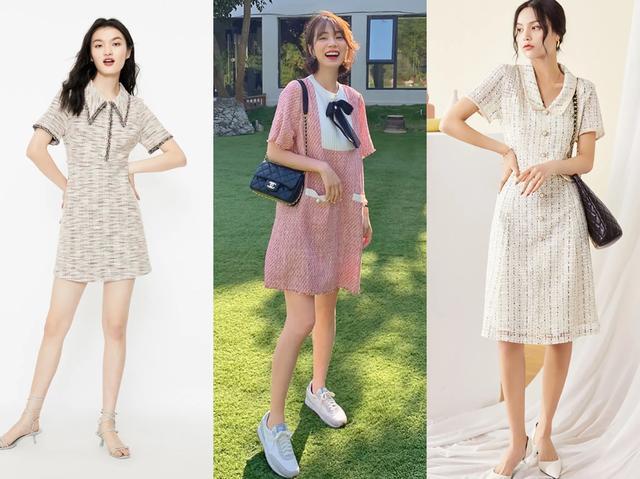 超漂亮的连衣长裙款式图片