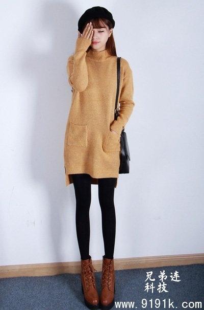 针织毛衣裙穿搭_美丽和温度同时拥有_